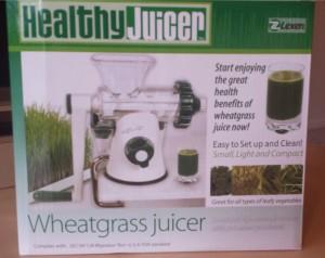 Lexen Healthy Wheatgrass Juicer Box